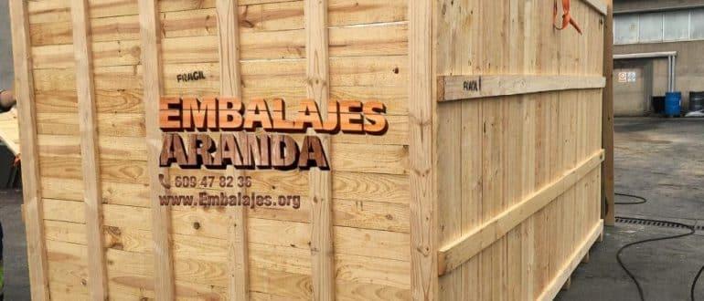 Embalaje madera Camas Sevilla