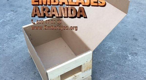 Embalaje madera Cambados Pontevedra