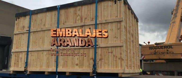 Embalaje madera Cambre A Coruña