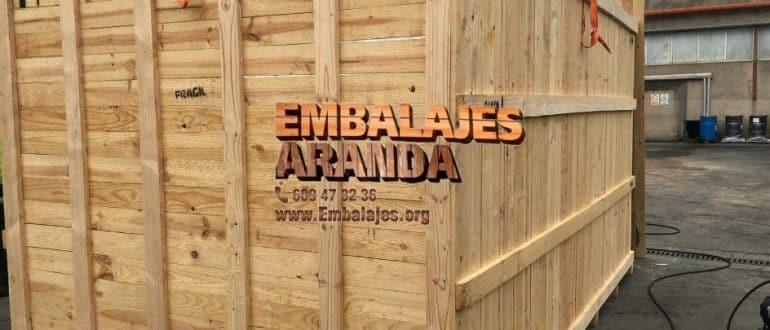 Embalaje madera Cambrils Tarragona