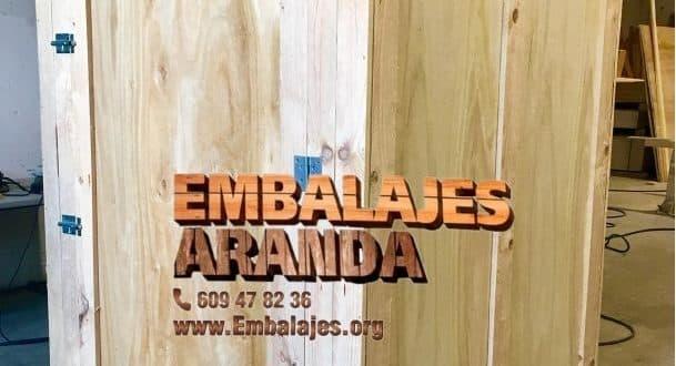 Embalaje madera Campanario Badajoz