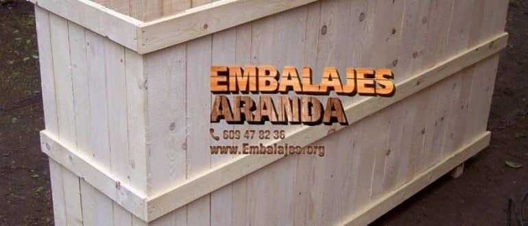 Embalaje madera Campos Mallorca