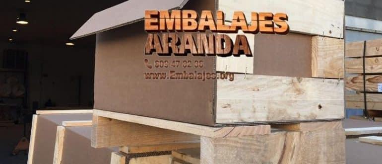 Embalaje madera Canals València