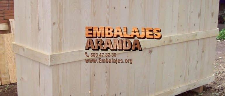 Embalaje madera Candelaria Santa Cruz de Tenerife