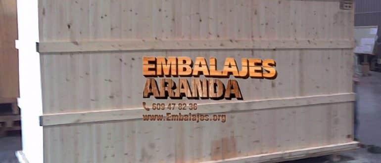 Embalaje madera Candeleda Ávila