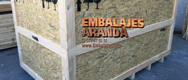 Embalaje madera Cangas de Morrazo