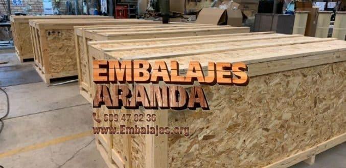 Embalaje madera Cangas del Narcea