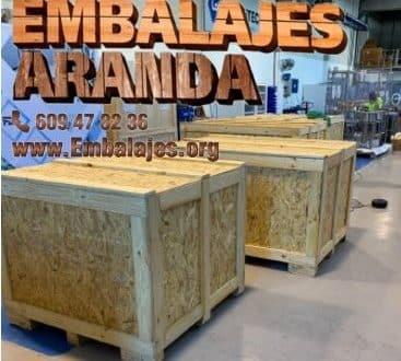 Embalaje madera Caniles Granada