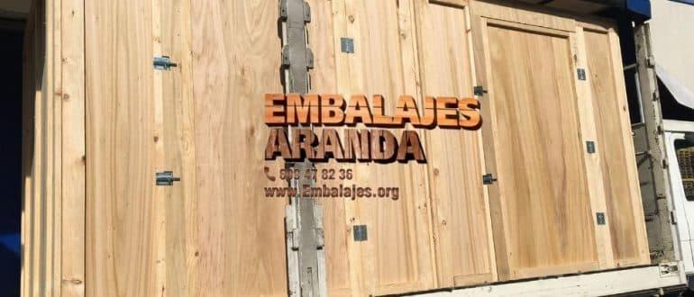 Embalaje madera Canyellas Barcelona