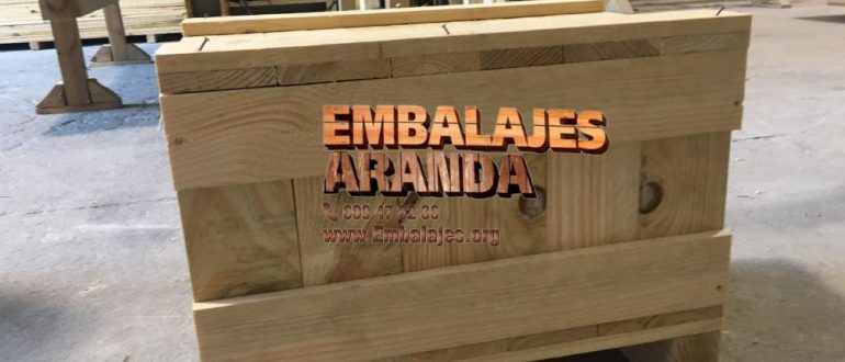 Embalaje madera Capdepera Islas Baleares