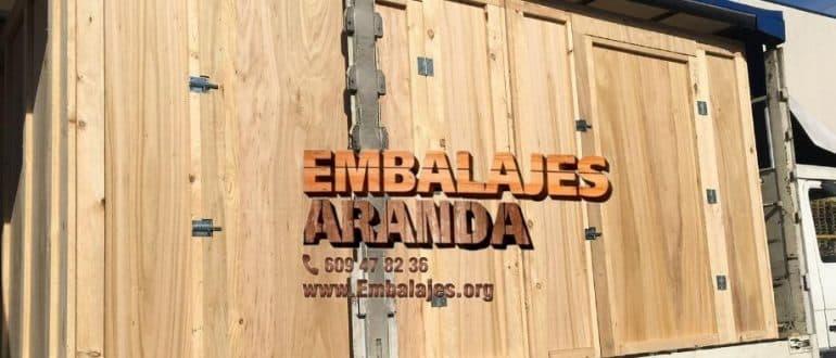 Embalaje madera Caravaca de la Cruz Murcia