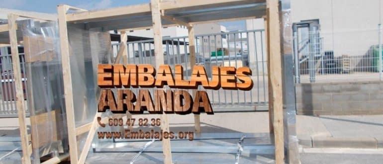Embalaje madera Carboneras Almería