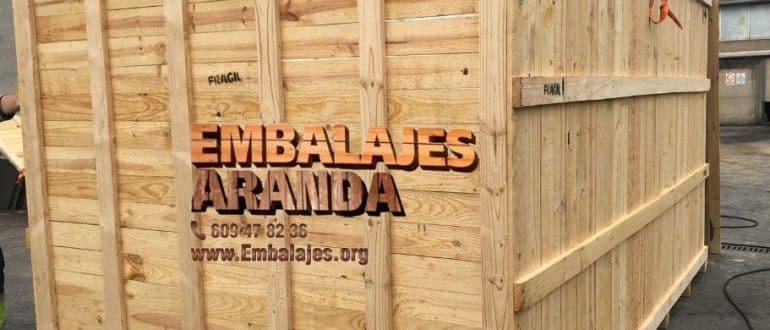 Embalaje madera Cardedeu Barcelona