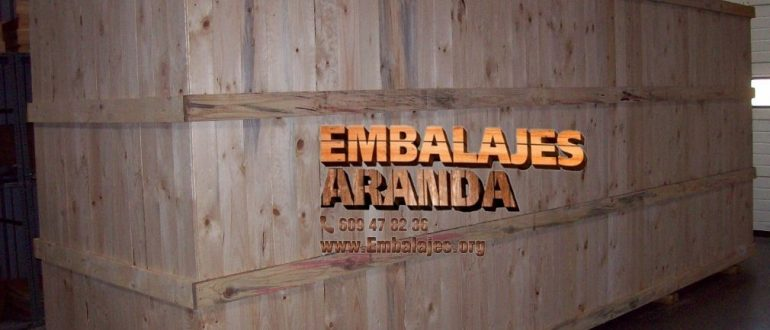 Embalaje madera Cardona Barcelona