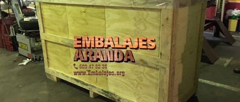 Embalaje madera Carnota A Coruña