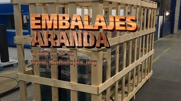 Embalaje madera Carranque Toledo