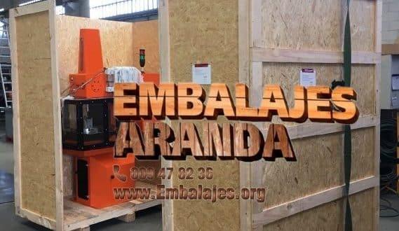 Embalaje madera Cartaya Huelva