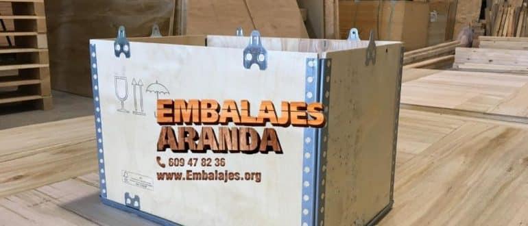 Embalaje madera Casares Málaga