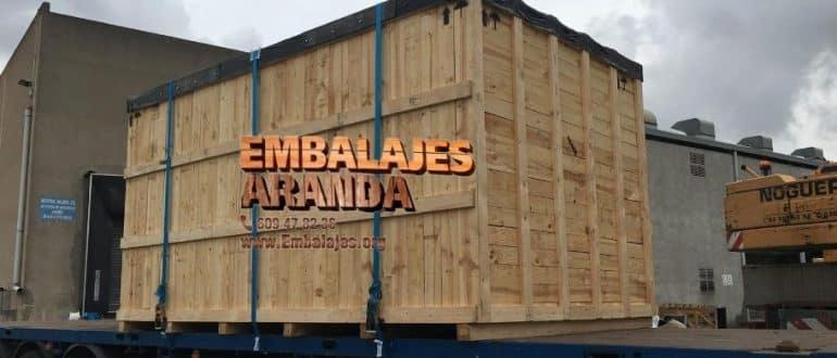 Embalaje madera Casarrubios del Monte