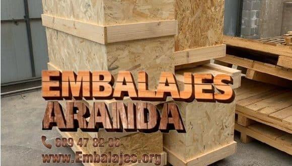 Embalaje madera Casas-Ibáñez Albacete