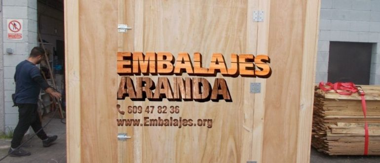 Embalaje madera Caspe Zaragoza