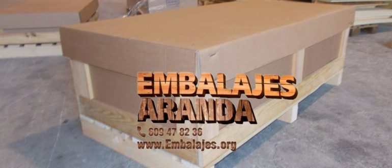 Embalaje madera Castalla Alicante