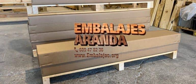 Embalaje madera Castellar del Vallès Barcelona