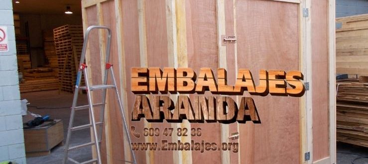 Embalaje madera Castellbisbal Barcelona
