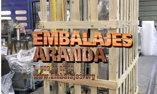 Embalaje madera Castrillón Asturias