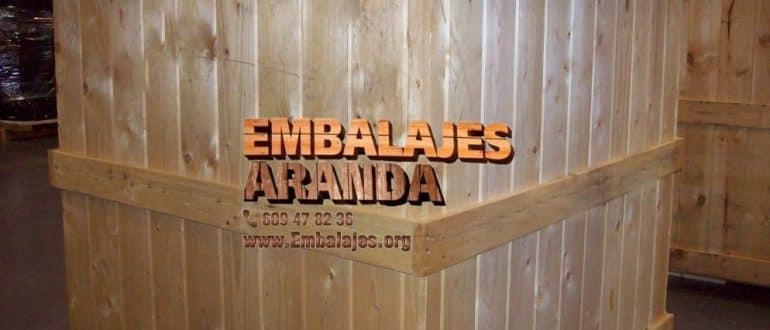 Embalaje madera Castuera Badajoz