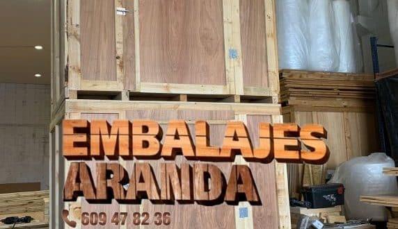 Embalaje madera Catarroja València