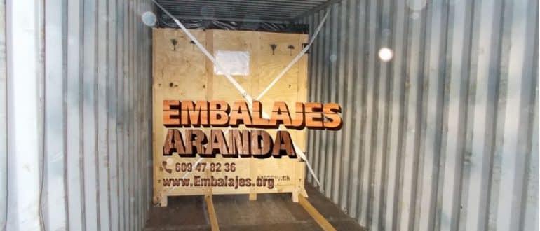 Embalaje madera Caudete Albacete