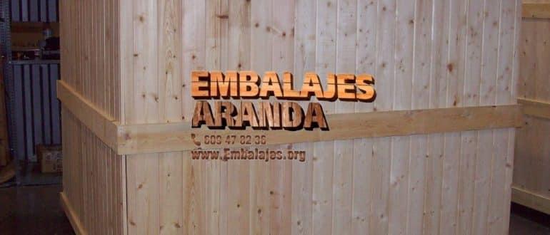 Embalaje madera Cazorla Jaén