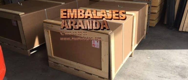 Embalaje madera Cedeira A Coruña