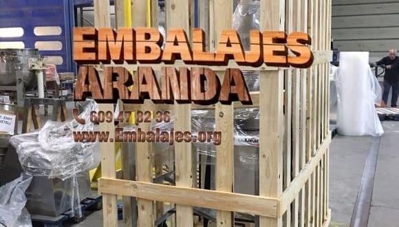 Embalaje madera Cedillo del Condado Toledo