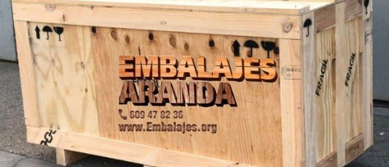 Embalaje madera Celanova Ourense