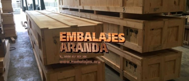 Embalaje madera Cenes de la Vega Granada