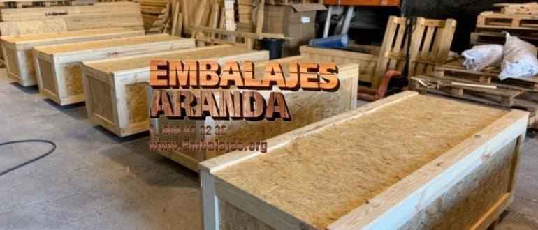 Embalaje madera Centelles Barcelona