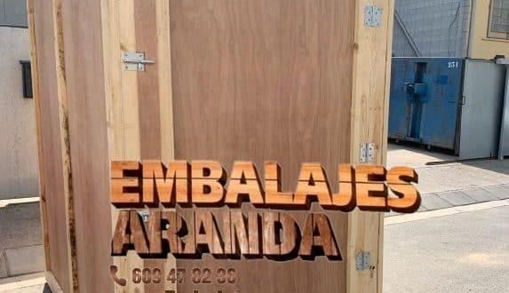 Embalaje madera Cercedilla Madrid
