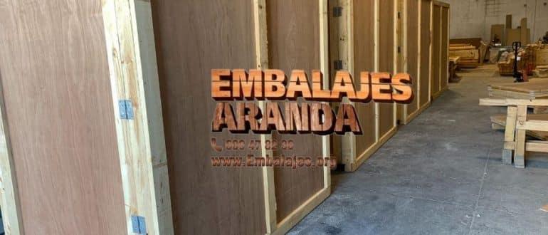 Embalaje madera Cervelló Barcelona