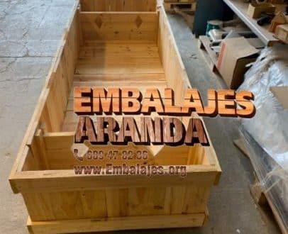 Embalaje madera Ceutí Murcia