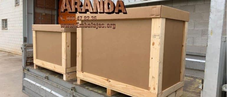 Embalaje madera Chantada Lugo