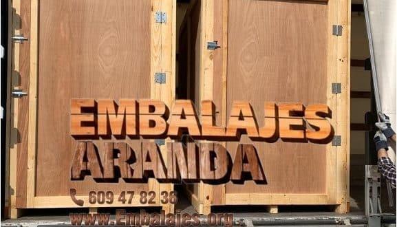 Embalaje madera Cheste València