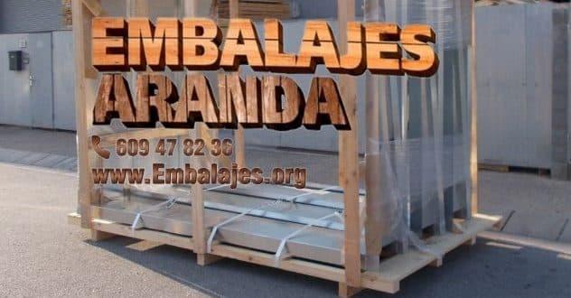 Embalaje madera Chipiona Cádiz