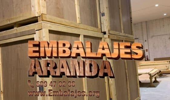 Embalaje madera Chiva València
