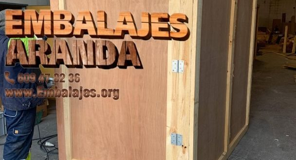 Embalaje madera Ciempozuelos Madrid