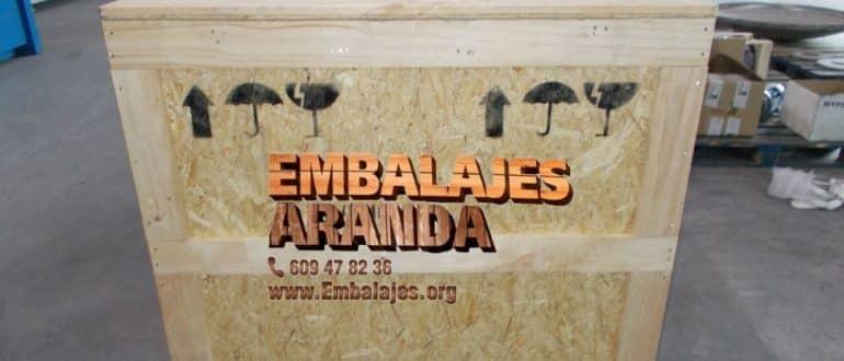 Embalaje madera Cieza Murcia