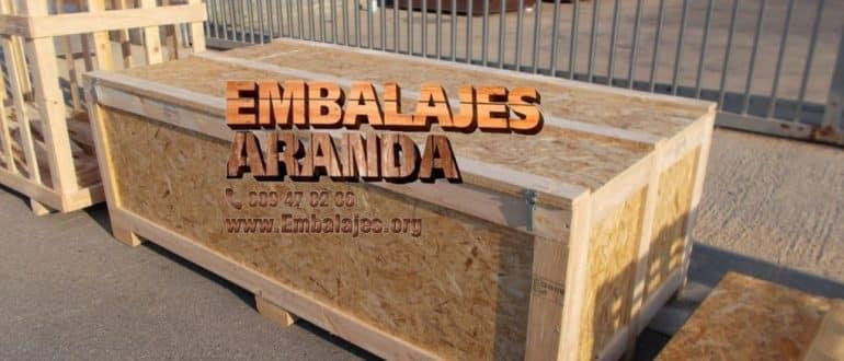 Embalaje madera Cigales Valladolid