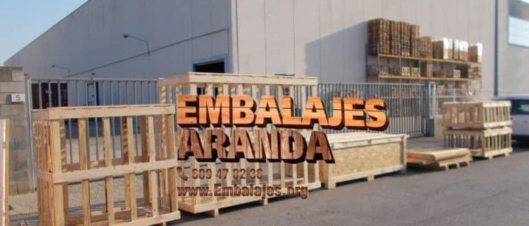 Embalaje madera Cintruénigo Navarra