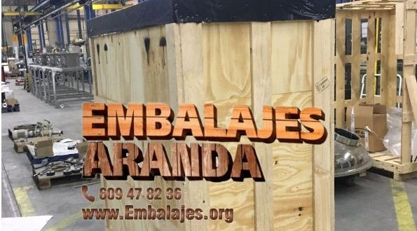 Embalaje madera Ciudad Rodrigo Salamanca